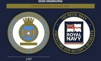 HMS Richmond Challenge Coin (with FREE name engraving)